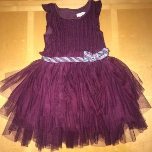 👧🏼Matilda Jane Soirée Maroon Tulle Dress